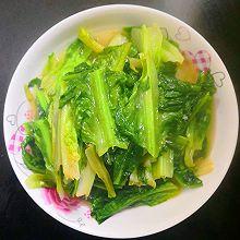 #餐桌上的春日限定#蒜蓉油麦菜~