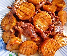 鲍炒牛肉的做法