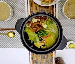 肥肠白菜煲的做法