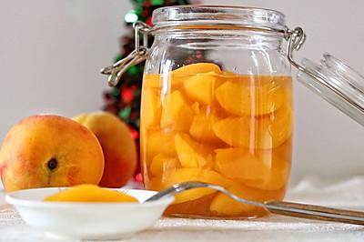 #美食新势力#别再买N添加的黄桃罐头了,自己做的更放心