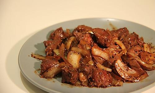 [10分钟系列]浓郁黑椒牛肉的做法
