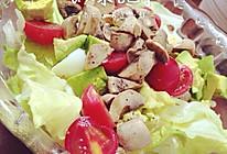 酪梨生菜沙拉的做法