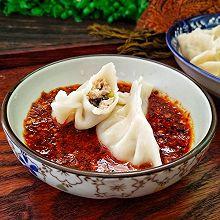 #年味十足的中式面点#木耳猪肉月牙饺
