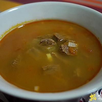 西式牛肉汤