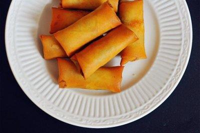 春节家宴必备菜--黄金炸春卷#金龙鱼外婆乡小榨菜籽油#