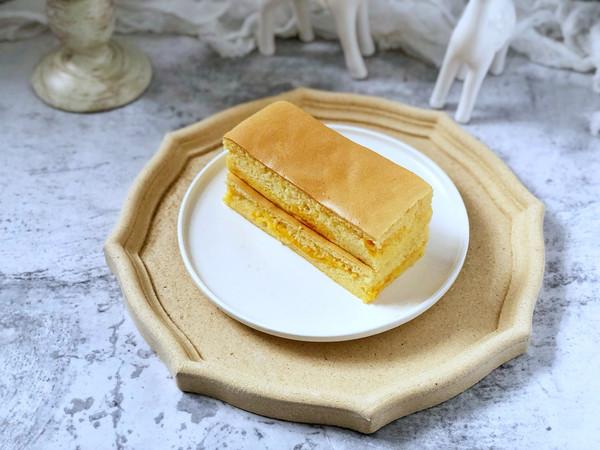 咸蛋黄芝士夹心蛋糕的做法