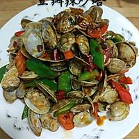 豆瓣辣炒蛤