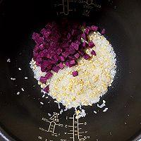 简单方便营养【紫薯粥】的做法图解2
