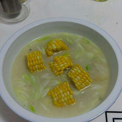 好爸爸奶白鲫鱼玉米浓汤