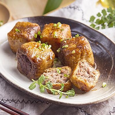 小羽私厨之肉酿黄金袋