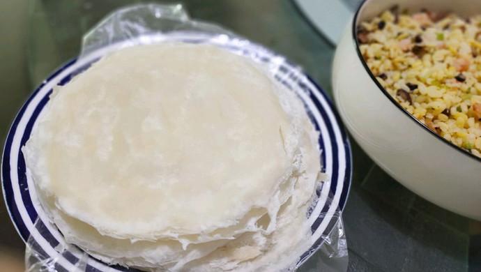 自制传统春卷皮-平底锅版