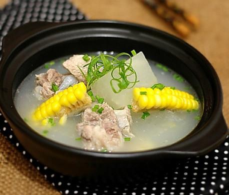 冬瓜玉米排骨湯