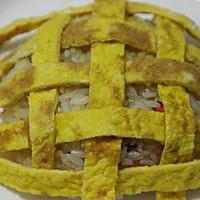 勇敢地去追求自己想要的幸福———向日葵蛋炒饭的做法图解4