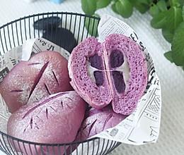 料多多紫薯麻薯软欧包的做法