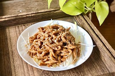传统京酱肉丝