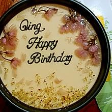 樱花果冻芝士蛋糕