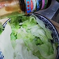 快手·蚝油西生菜的做法图解1