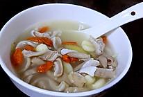 党参莲子猪肚汤的做法