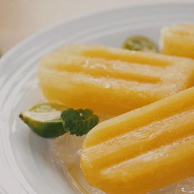 阳光橙子冰棍|九阳知食