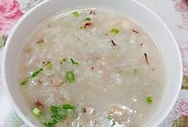 干贝花蛤鲜菇粥的做法