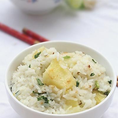 葱香土豆饭