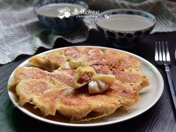 白芦笋虾仁煎饺