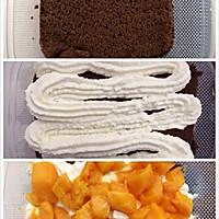可可芒果盒子蛋糕(木糖醇)的做法图解12
