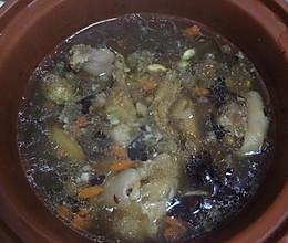 孝心滋补猪蹄汤的做法