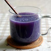 紫薯银耳羹-冬季暖身