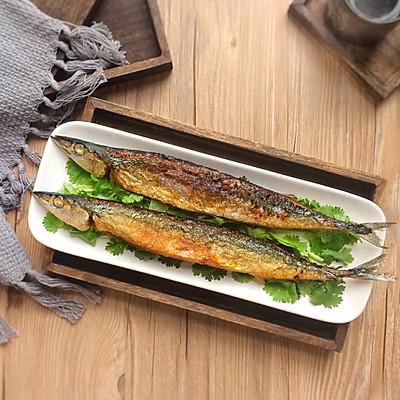 新手菜谱: 香煎秋刀鱼