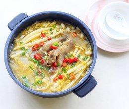 酸汤肥牛白菜的做法