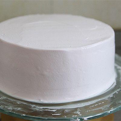 【番茄配方】粉红佳人生日蛋糕的做法 步骤5