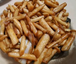 素炒海鲜菇的做法