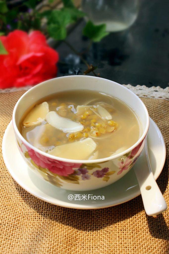 教案百合汤的做法食谱绿豆图片