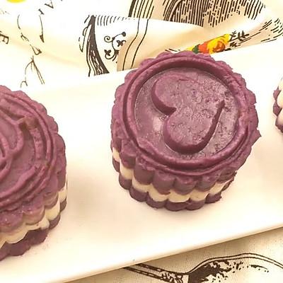 「膳小姐 |紫薯山药糕」