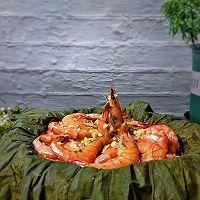 #晒出你的团圆大餐#荷叶粉丝叫花虾的做法图解11