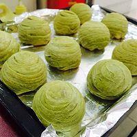 #九阳食尚学院#香甜抹茶酥的做法图解16