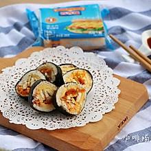 不一样三明治—三明治寿司#百吉福食尚达人#