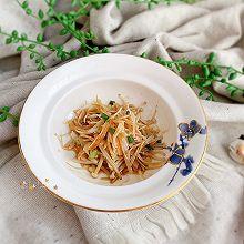 #快手又营养,我家的冬日必备菜品#金针菇蒸蟹柳