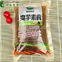 减肥魔芋面海藻面炒杏鲍菇-低脂低卡健身纤体-蜜桃爱营养师私厨的做法图解2
