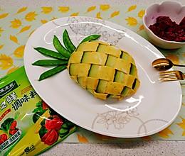 #做饭吧!亲爱的#没有菠萝的菠萝蛋包饭的做法