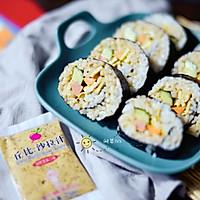 芝香寿司卷#丘比沙拉汁#