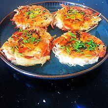 #美食视频挑战赛#鸟巢土豆丝饼(高颜值减脂早餐)