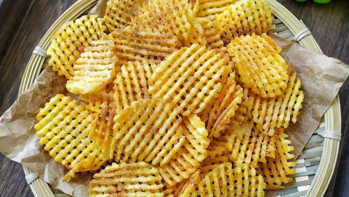 金黄脆薯格