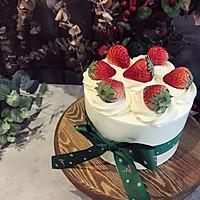草莓红丝绒奶油蛋糕#安佳烘焙学院#