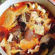 鸭血冒菜#橄榄中国味 感恩添美味#