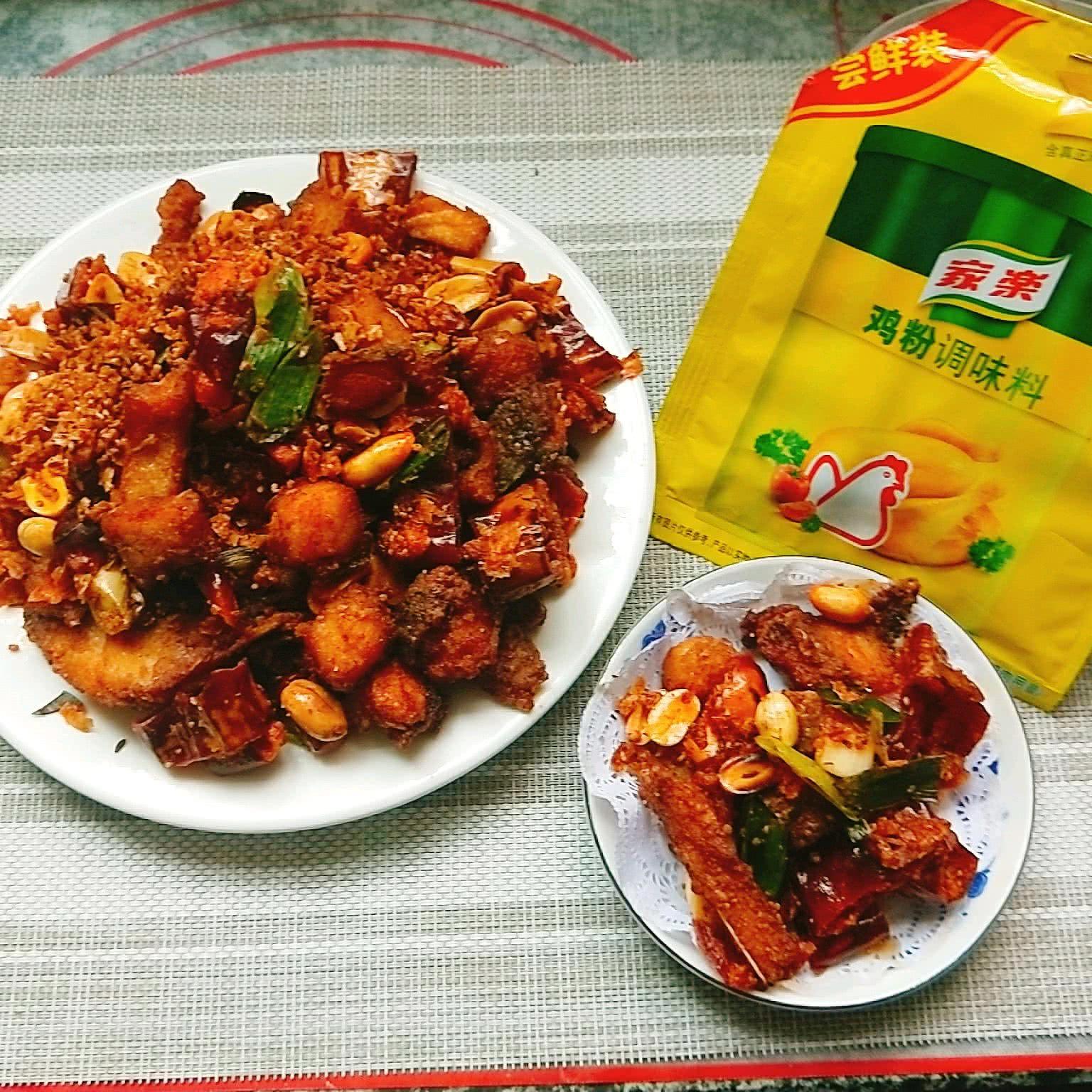 辣椒酥炒鱼块+#鲜有赞,爱有伴#