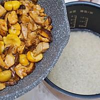 #味达美名厨福气汁,新春添口福#板栗焖鸡饭的做法图解7