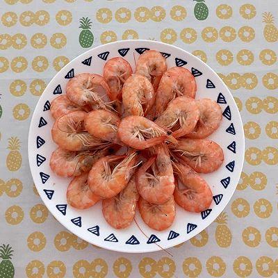 盐水煮大虾
