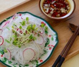 瘦身减肥餐-魔芋丝沙拉的做法
